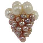 Koraliki z hodowlanych pereł w kształcie piłki, Perła naturalna słodkowodna, Babcia, 18x20mm, 5komputery/torba, sprzedane przez torba