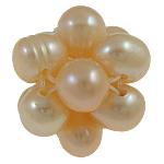 Koraliki z hodowlanych pereł w kształcie piłki, Perła naturalna słodkowodna, Koło, 12mm, sprzedane przez PC