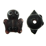 Animal Lampwork Beads, 18x18x9mm, Hole:Approx 2mm, 50PCs/Bag, Sold By Bag