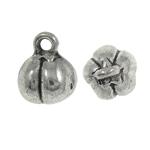 Sinkkiseos riipukset, antiikki hopea päällystetty, Jäljitelmä Antiikki, nikkeli, lyijy ja kadmium vapaa, 8x9mm, Reikä:N. 1.5mm, N. 710PC/KG, Myymät KG