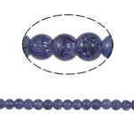 Crackle Glass Beads, Round, purple, 6mm, Hole:Approx 1.5mm, Length:Approx 31 Inch, 10Strands/Bag, Sold By Bag