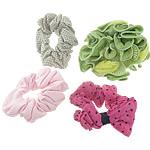 Смешанные аксессуары для волос, ткань, разноцветный, 18-55mm, длина:5-7 дюймовый, 100ПК/Лот, продается Лот