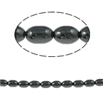 Magnetic Hematite Beads, 6x4mm, Hole:Approx 1mm, Length:15.5 Inch, 10Strands/Lot, Sold by Lot