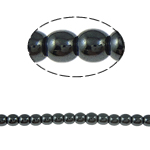 Magnetic Hematite Beads, 4mm, Hole:Approx 1.5mm, Length:15.5 Inch, 10Strands/Lot, Sold by Lot
