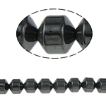 Magnetic Hematite Beads, Column, black, Grade A, 8x8mm, Hole:Approx 1.5mm, Length:15.5 Inch, 10Strands/Lot, Sold By Lot