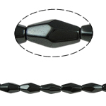 Magnetic Hematite Beads, 6x12mm, Hole:Approx 1.5mm, Length:15.5 Inch, 10Strands/Lot, Sold by Lot