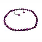 Ожерелья Шамбал, Пресноводные жемчуги, с Восковой шнур, розовый, 9-10mm, Продан через 18 дюймовый Strand