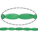Natural Jade Beads, Jade Malaysia, Oval, green, 29.50x10mm, Hole:Approx 1.5mm, Approx 12PCs/Strand, Sold Per Approx 14 Inch Strand