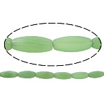 Natural Aventurine Beads, Green Aventurine, Twist, 29.50x10mm, Hole:Approx 1mm, Approx 13PCs/Strand, Sold Per Approx 15 Inch Strand
