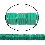 Natural Malachite Beads, Cube, 4x4x4mm, Hole:Approx 1mm, Approx 120PCs/Strand, Sold Per Approx 16 Inch Strand