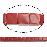 Natural Jade Beads, Jade Red, Cube, 8.50x8.50x8.50mm, Hole:Approx 1.5mm, Length:Approx 16 Inch, Approx 49Strands/Lot, Sold By Lot