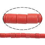 Natural Coral Beads, 4x3-4mm, Hole:Approx 1mm, approx 96PCs/Strand, Sold per approx 15.5 Inch Strand