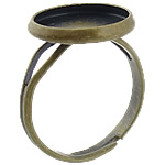 Brass Bezel Ring Base, antique bronze color plated, nickel, lead & cadmium free, 14x14x2mm, 12.5x12.5mm, Hole:Approx 17mm, Inner Diameter:Approx 12mm, Size:6.5, 500PCs/Bag, Sold By Bag
