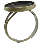 Brass Bezel Ring Base, antique bronze color plated, nickel, lead & cadmium free, 16x16x2mm, 14x14mm, Hole:Approx 17mm, Inner Diameter:Approx 14mm, Size:5.5, 500PCs/Bag, Sold By Bag