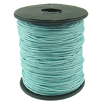 Wax Cord, 1mm, Length:80 Yard, Sold by PC