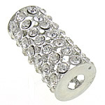 Rhinestone Jewelry Beads, 32.50x15mm, Hole:Approx 6mm, 20PCs/Bag, Sold by Bag