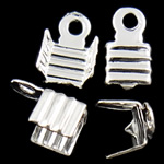 Iron Cord Tips, 7.50x5x4mm, Hole:Approx 1.3mm, 10000PCs/Bag, Sold by Bag