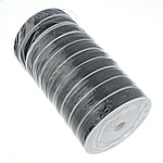Tiger Tail Wire, black, 81.5mm, 0.45mm, 10PCs/Lot, 100m/PC, Sold By Lot