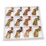 الذهب الرمل المعلقات امبورك, تحريف, الرمال الذهبية, الألوان المختلطة, 62x25x14mm, حفرة:تقريبا 6.5mm, 12أجهزة الكمبيوتر/مربع, تباع بواسطة مربع