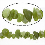 Jade Lemon Beads, Nuggets, natural, 8-19mm, Hole:Approx 0.2-1.5mm, Length:Approx 16 Inch, 10Strands/Lot, Sold By Lot
