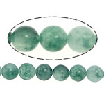 Natural Marble Beads, Dyed Marble, Round, green, 8mm, Hole:Approx 1mm, Length:Approx 16 Inch, 5Strands/Lot, Sold By Lot