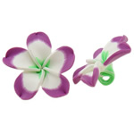 Polymer Clay Beads, Flower, 50x49x20mm, Hole:Approx 5mm, 100PCs/Bag, Sold By Bag