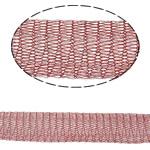 Koronkowa wstążka z drutem., Mosiądz, ciemnoczerwony, bez zawartości niklu, ołowiu i kadmu, 12mm, sprzedane przez m