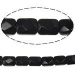 Suorakulmion kristalli helmiä, Suihkukone, 8.50x6.50x4.50mm, Reikä:N. 1mm, Pituus:12.6 tuuma, 20säikeet/laukku, Myymät laukku