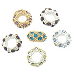 Rhinestone Jewelry Beads, 5.80x11mm, Hole:Approx 5mm, 100PCs/Bag, Sold by Bag