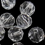 Koraliki z kryształów CRYSTALLIZED™ego, CRYSTALLIZED™, Koło, różnej wielkości do wyboru, kryształowy, otwór:około 1mm, 50komputery/torba, sprzedane przez torba
