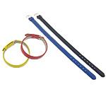Pulseras de Cuero, hierro cierre, color mixto, 10mm, longitud:aproximado 8 Inch, 100Strandsfilamento/Grupo, Vendido por Grupo