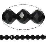 Imitation CRYSTALLIZED™ Element Crystal Beads, Bicone, faceted & imitation CRYSTALLIZED™ element crystal, Jet, 12mm, Hole:Approx 1.5mm, 72PCs/Strand, Sold Per 32 Inch Strand