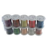 Copper Wire, with plastic spool, mixed colors, nickel, lead & cadmium free, 0.30mm, Length:100 m, 10PCs/Lot, Sold By Lot