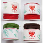 Nylon Cord, with plastic spool, mixed colors, 1mm, Length:500 m, 10PCs/Lot, 50m/PC, Sold By Lot