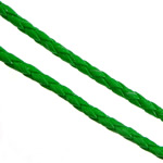 Leather Cord PU green 3mm 100Yards/Lot