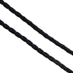 Leather Cord PU black 3mm 100Yards/Lot