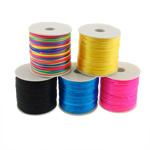 Sewing Thread, Silk, with plastic spool, mixed colors, 1mm, 5PCs/Lot, Approx 80m/PC, Sold By Lot