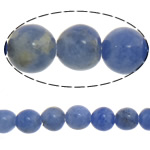 Natural Sodalite Beads, Round, blue, 4mm, Length:Approx 15 Inch, 10Strands/Lot, Sold By Lot