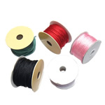 Nylon Thread, mixed colors, nickel, lead & cadmium free, 3mm, 5PCs/Lot, Sold By Lot