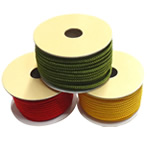 Nylon Thread, with plastic spool, mixed colors, 3mm, 5PCs/Lot, Sold By Lot