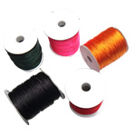 Nylon Thread, with plastic spool, mixed colors, 1.50mm, 5PCs/Lot, Sold By Lot