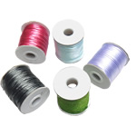 Nylon Cord, with plastic spool, mixed colors, 2mm, 10PCs/Lot, Sold By Lot