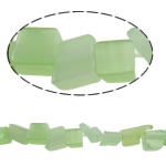 Cats Eye Jewelry Beads Nuggets groen 2-9mm Gat:Ca 1mm Lengte:33.9 inch 10strengen/Bag Verkocht door Bag