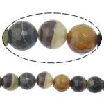 الطبيعية الخرز العقيق الرباط, الدانتيل العقيق, جولة, حجم مختلفة للاختيار & الأوجه & شريط, حفرة:تقريبا 2mm, طول:تقريبا 15 بوصة, تباع بواسطة الكثير