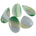 Lace Agate Pendants, mixed, 45-62mm, Hole:Approx 2-2.5mm, 20PCs/Bag, Sold By Bag