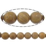 Natural Grain Stone Beads, Round, 12mm, Hole:Approx 1.2mm, Length:Approx 15 Inch, 10Strands/Lot, Approx 32PCs/Strand, Sold By Lot