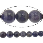 Quartz Jewelry Beads, Amethyst, Round, 10mm, Hole:Approx 1.5mm, Length:15.5 Inch, 5Strands/Lot, Sold By Lot