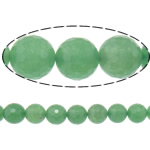 Natural Aventurine Beads, Green Aventurine, Round, 8mm, Hole:Approx 1.8mm, Length:Approx 15 Inch, 10Strands/Lot, Approx 46PCs/Strand, Sold By Lot