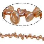 Reborn Cultured Freshwater Pearl Beads, 6-8mm, Hole:Approx 0.8mm, Sold Per 15.7 Inch Strand
