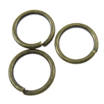 Iron Closed Jump Ring, 6x0.7mm, Hole:Approx 4.8mm, 23800PCs/KG, Sold by KG